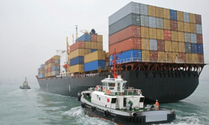 Las exportaciones subieron 2.2% a 191,200 millones de dólares durante el periodo. (Foto: Getty Images)