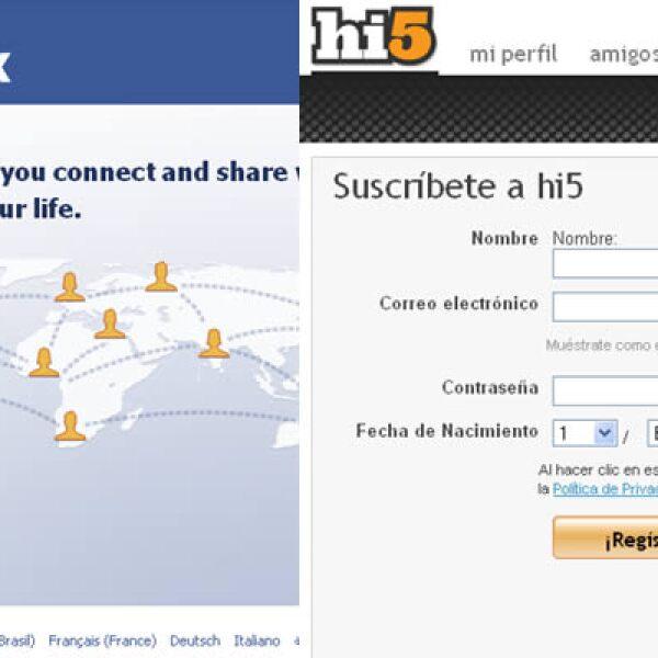 70% de los internautas mexicanos están suscritos a sitios sociales: Facebook 31% y Hi5 30% según un estudio de de consumo de medios digitales de la consultoría Interactive Advertising Bureau (IAB) de México.