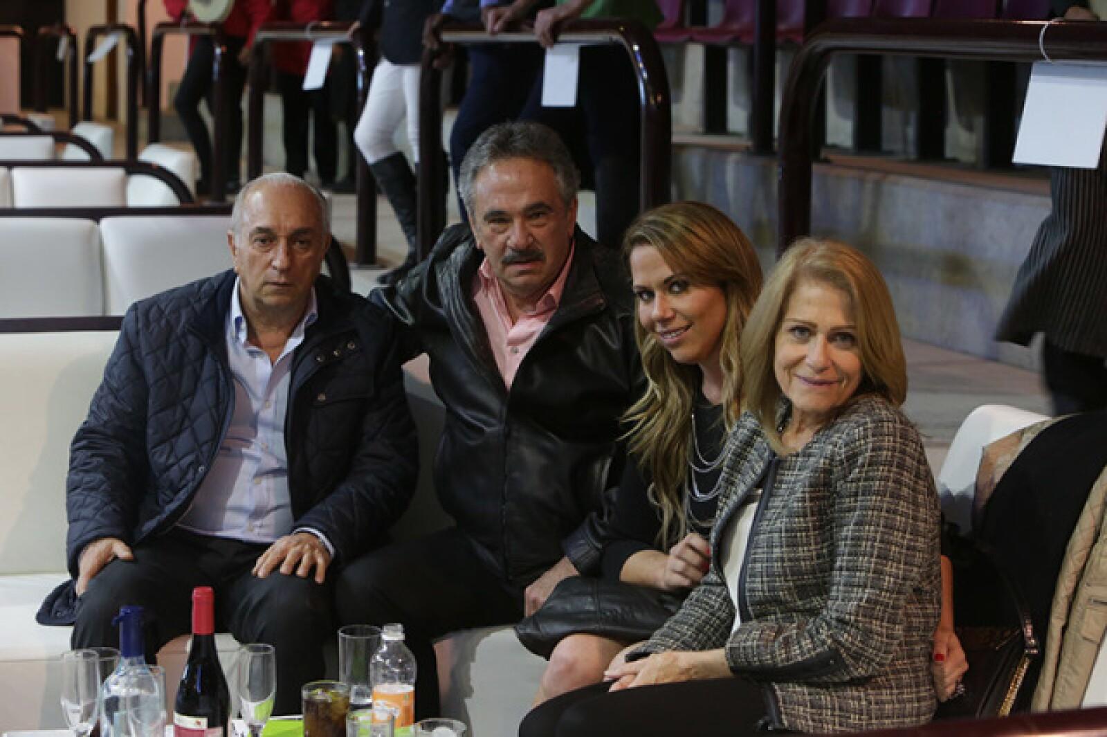 Juán Manuel Cosío,Eutimio García,Daniela García y Marilda Nigagnoni