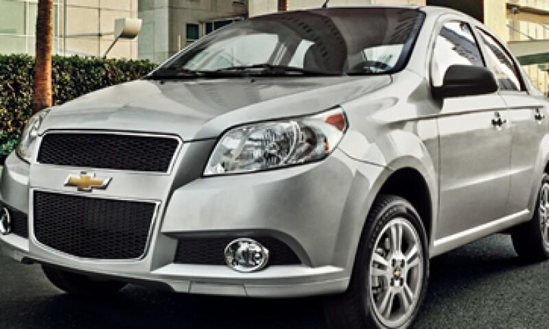 General Motors ha comercializado 31,480 unidades en lo que va de 2012, según la AMDA. (Foto: Tomada de chevrolet.com.mx)