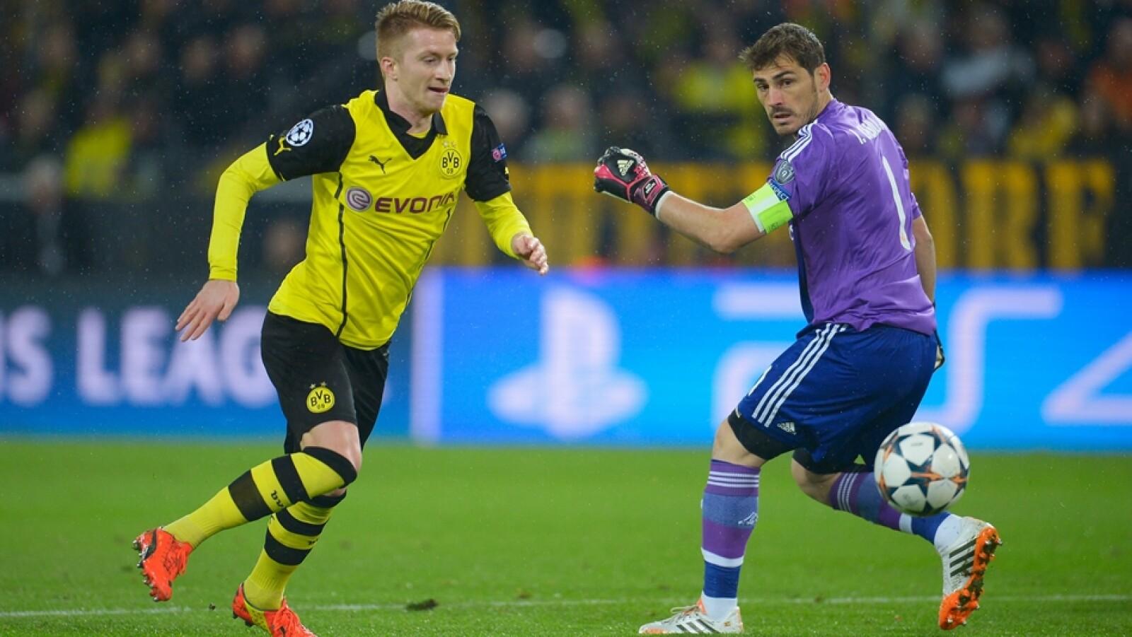 Marco Reus de Borussia Dortmund abrió el marcador