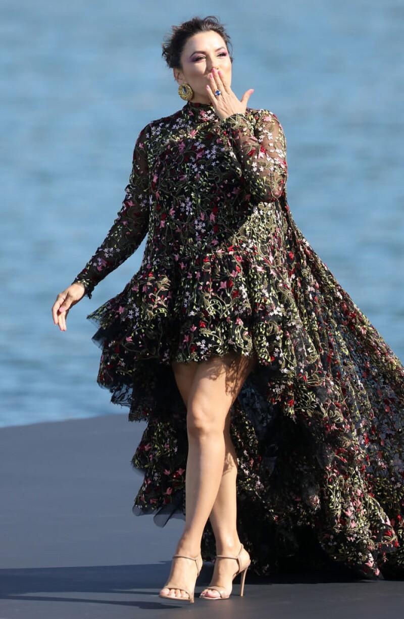 Eva Longoria en Paris Fashion Week
