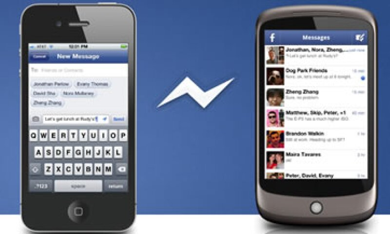 Facebook anunció que para contar con este servicio es necesario instalar la aplicación. (Foto: Tomada del sitio es-es.facebook.com)