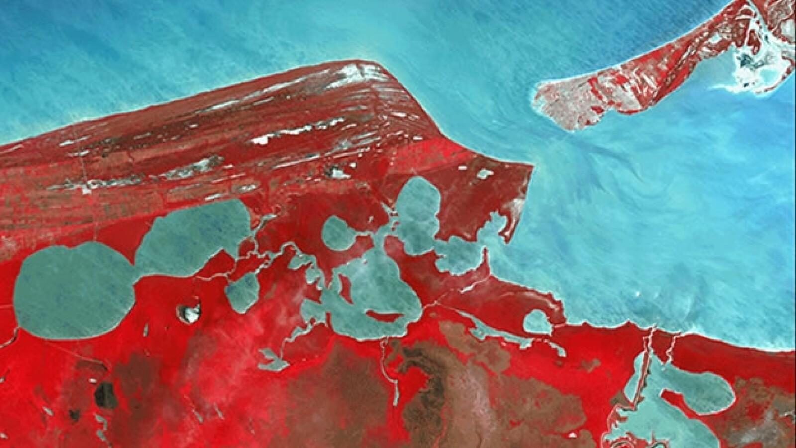 nasa, espacio, mar, caribe, isla del carmen