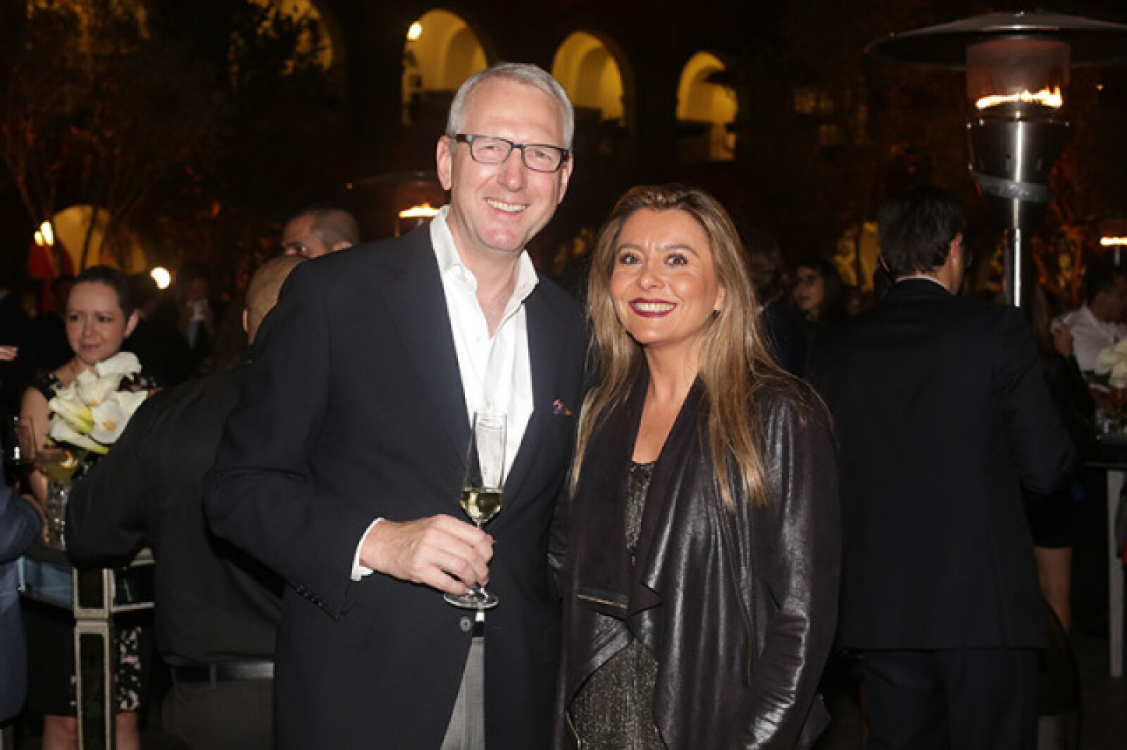 Guy Rigby y Claudia Cano