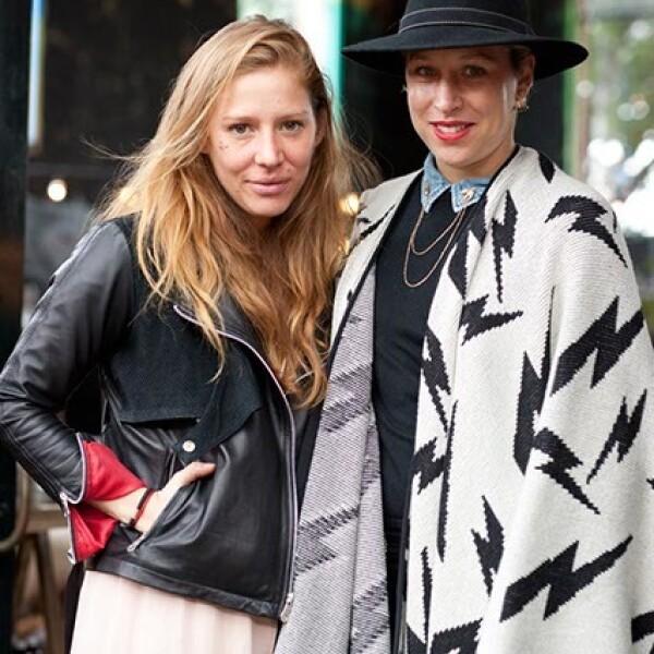 Cynthia Buttenklepper y Joanna Ruiz-Galindo