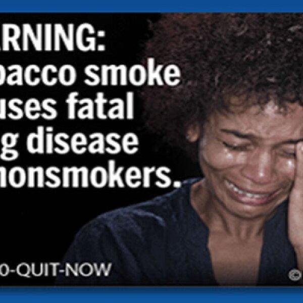 Las etiquetas cubrirán la mitad superior de la cajetilla por ambos lados y las advertencias de la FDA deberán aparecer además en los anuncios, cubriendo 20% de su superficie.