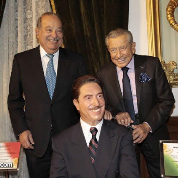 Carlos Slim, figura de Miguel Alemán Valdés, Miguel Alemán Velasco