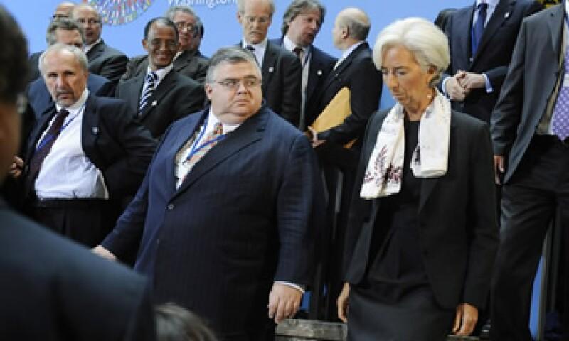 Agustín Carstens participa en la asamblea anual del Fondo Monetario Internacional en Washington. (Foto: Reuters)