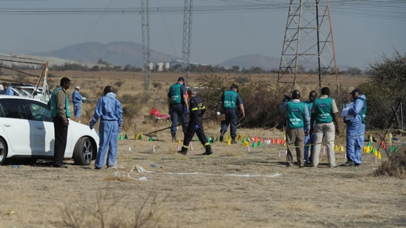 Sudáfrica protestas mineros 3