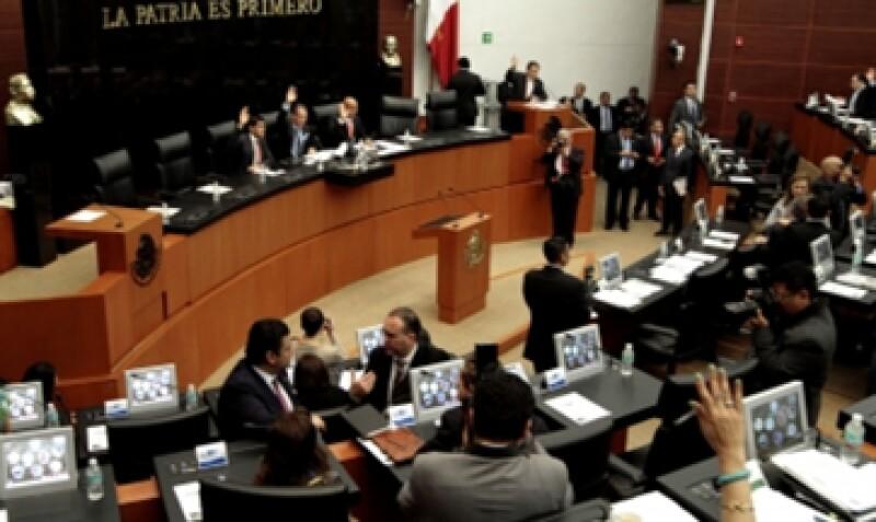 Los legisladores aprobaron con 25 votos a favor el periodo extraordinario. (Foto: Notimex)