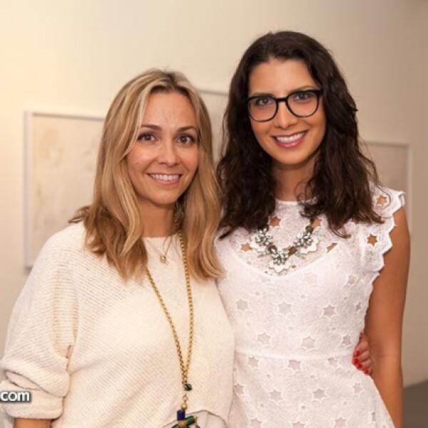 María Luisa Mendoza y Gina Moreno Valle