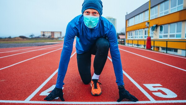 Corredor - coronavirus - maratón - nuevas reglas del juego - incertidumbre