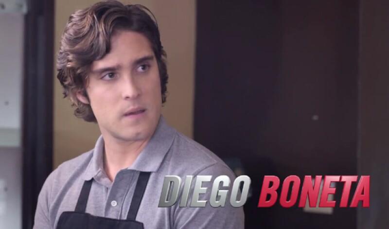 Scream Queens es la primera serie que Diego filma en Estados Unidos.