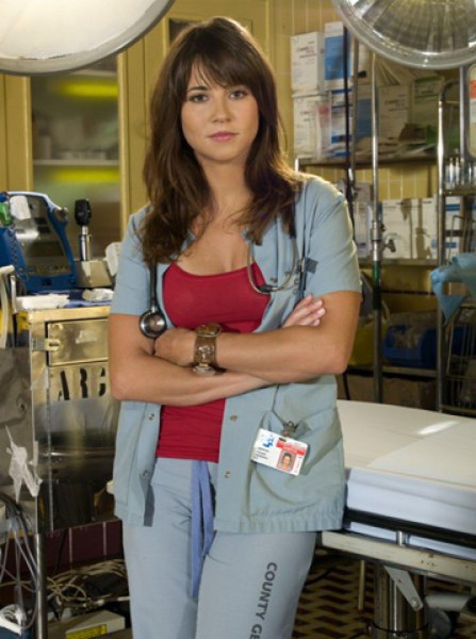 La actriz Linda Cadinelli interpretó a la enfermera Samantha Taggart durante 126 episodios en la serie, de 2003 a 2009.