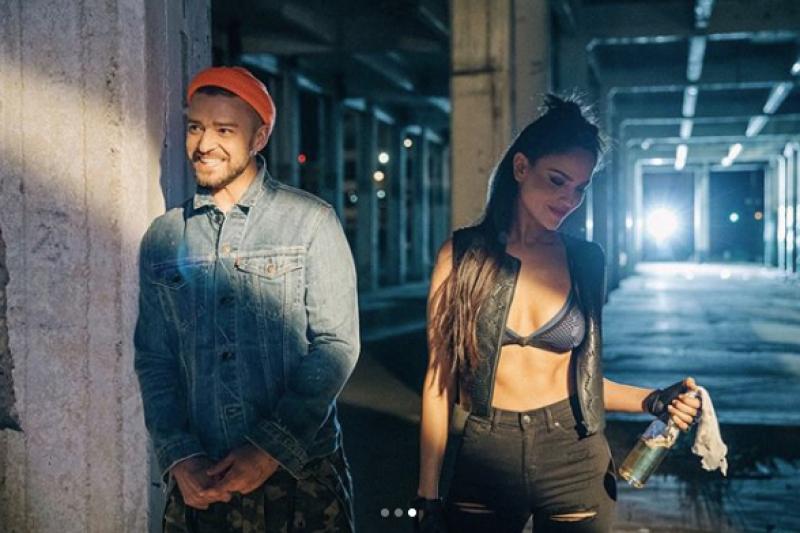 Justin Timberlake y Eiza González