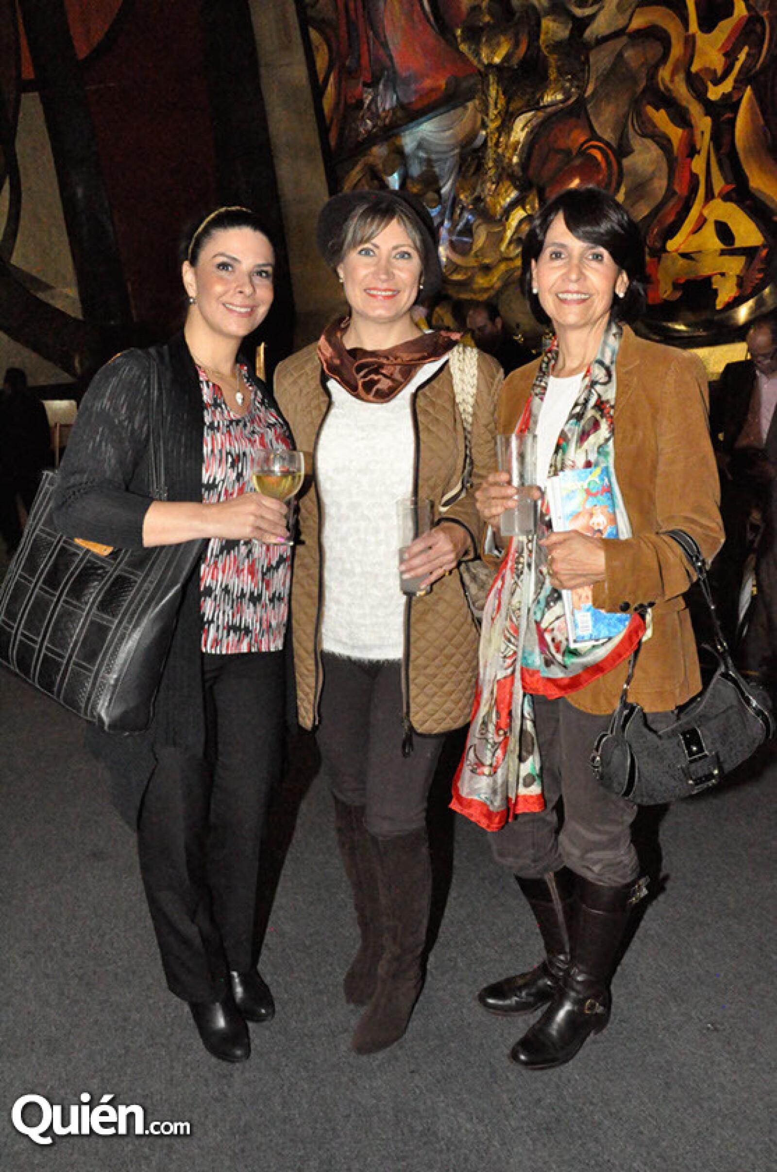 Vania López,Alicia Leal y Gabriela Álvarez