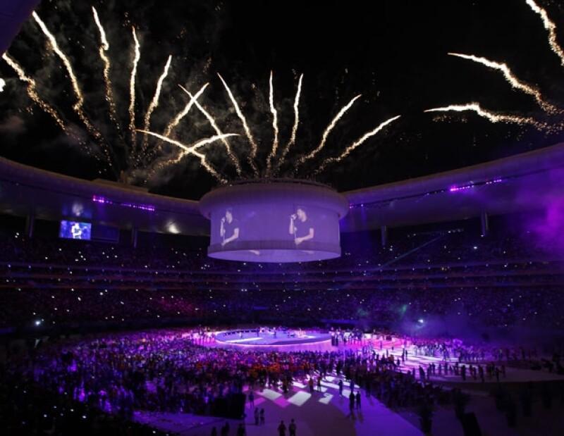 Miles de personas disfrutaron el concierto de Ricky Martin y las presentaciones de Camila.