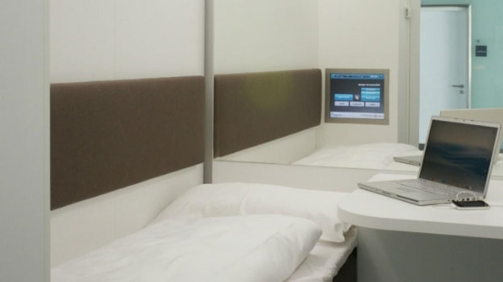 Napcab capsulas dormir aeropuertos