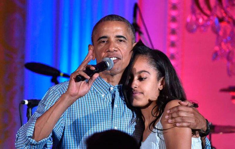 Durante la celebración del Día de la Independencia, el presidente de EU no perdió oportunidad de felicitar a su hija por su cumpleaños 18 y expresarle públicamente su cariño.