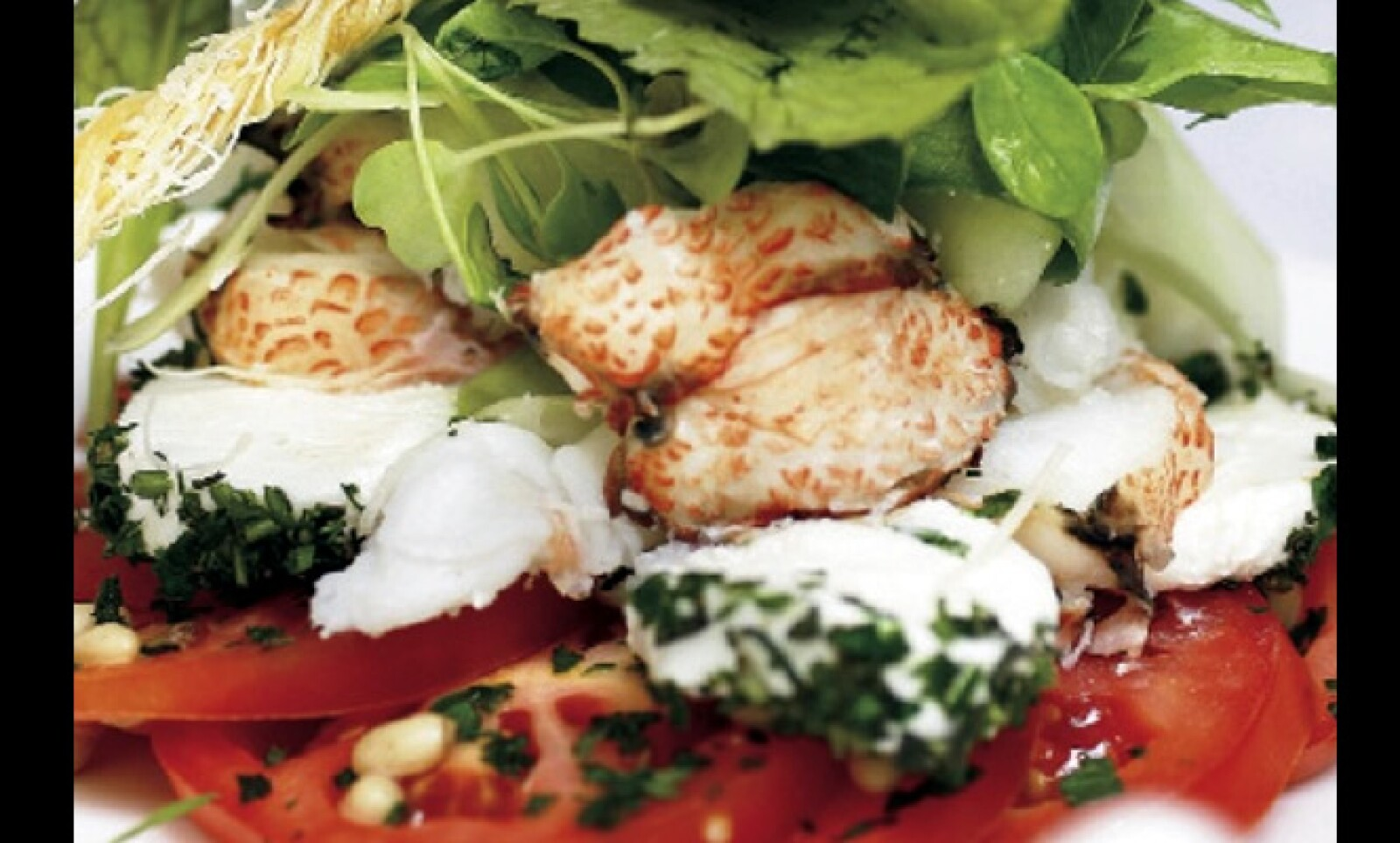 La ensalada de cangrejo es una especialidad en Sudáfrica. En los últimos años las principales ciudades de este país se han llenado de restaurantes vanguardistas.