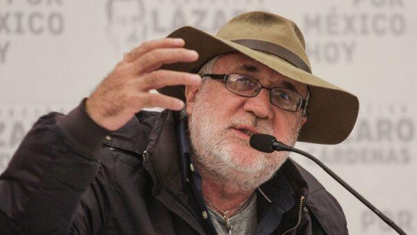 El poeta y activista Javier Sicilia.