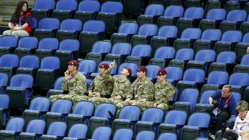 soldados, lugares, londres