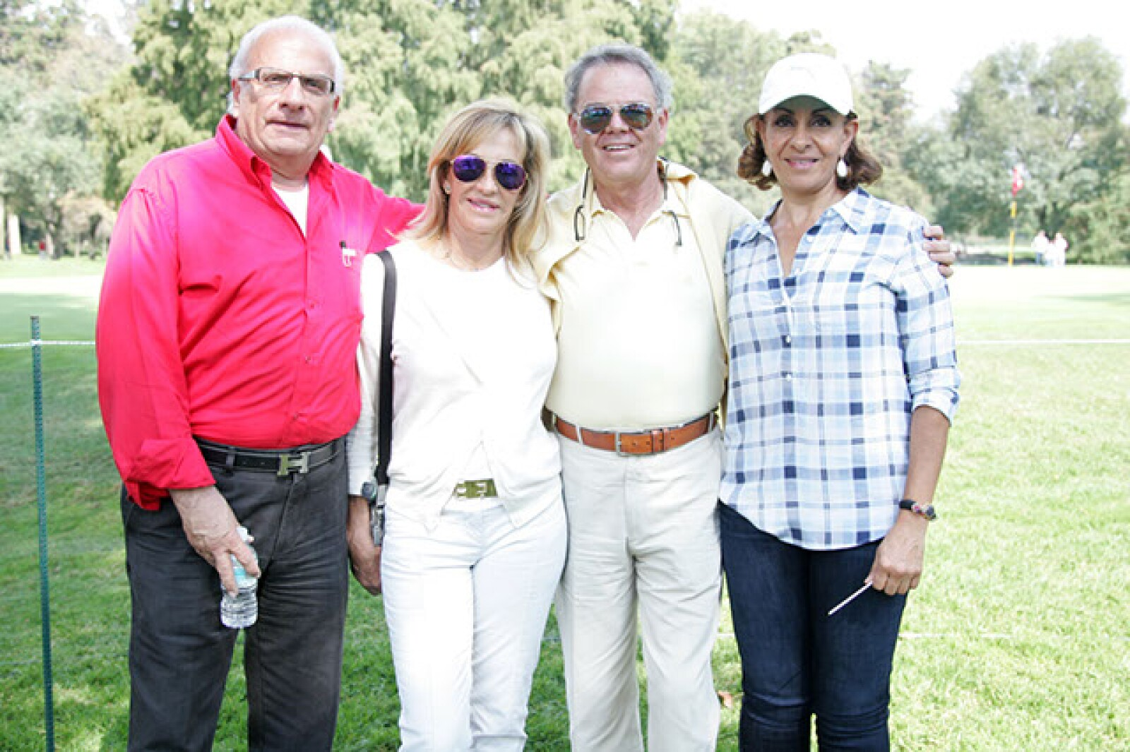 Edgar Simón,Malu Gutiérrez,Manuel Martín del Campo y Claudia Hakim