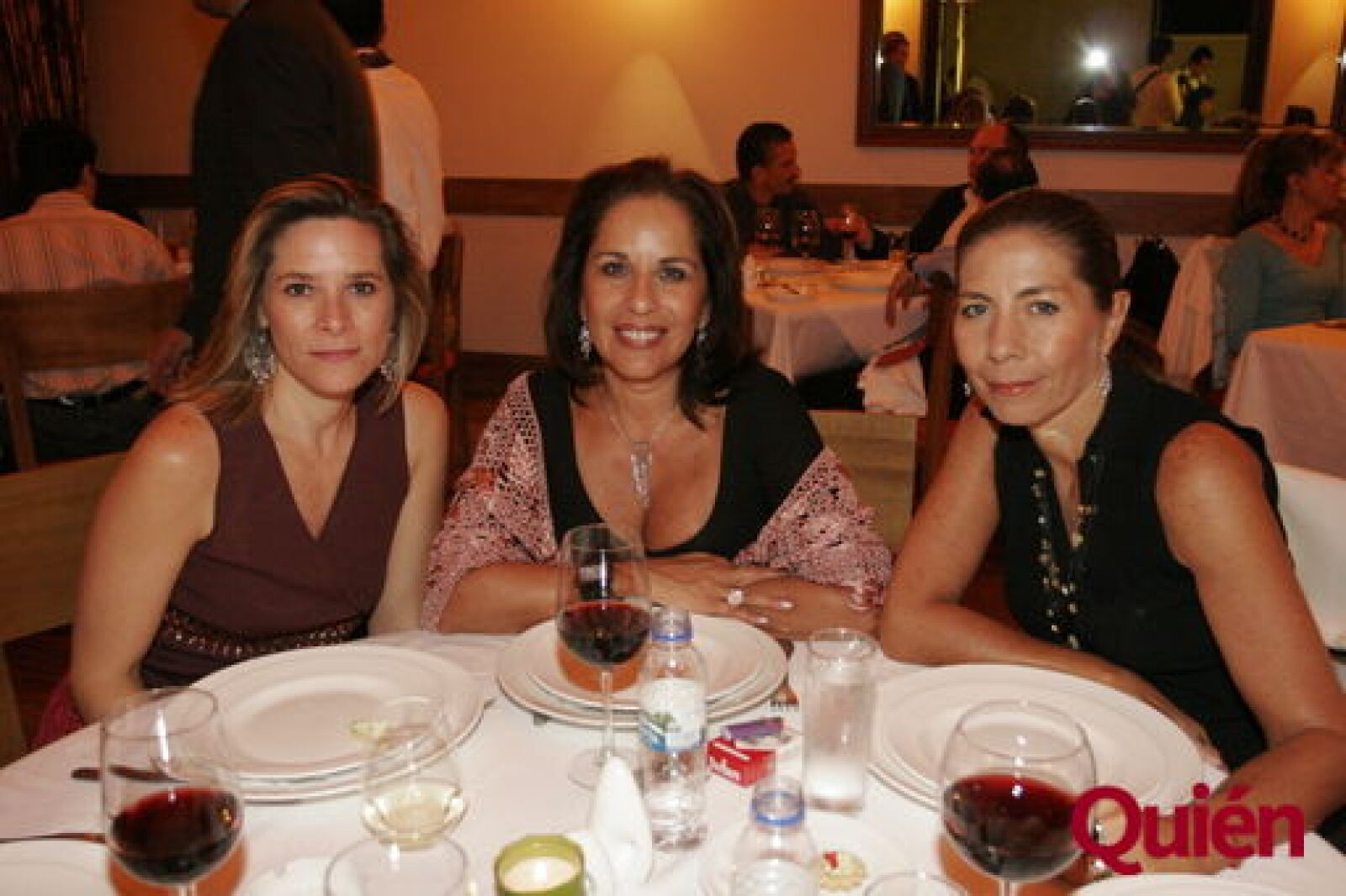 Dominique Berthelot, Mónica Marquiz, Blanche Toffel