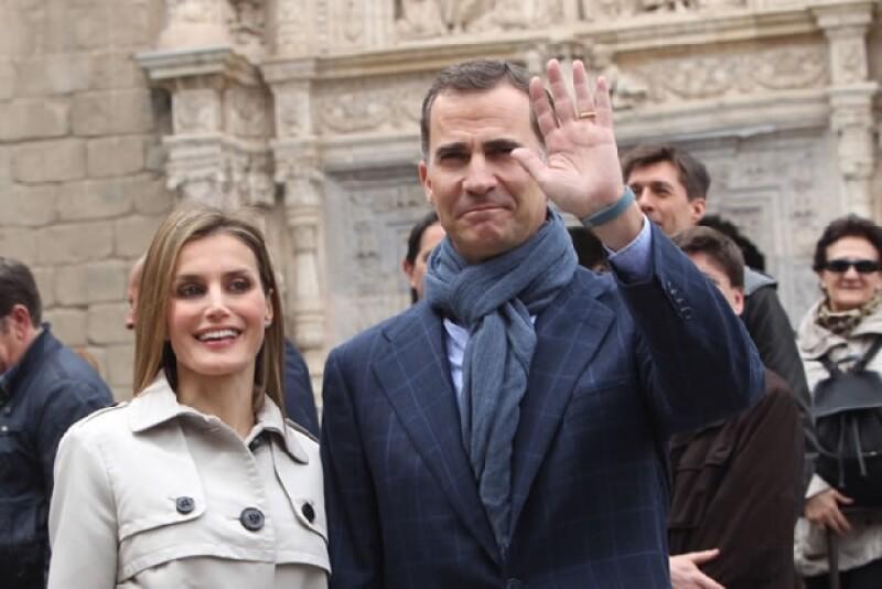 Hoy los Príncipes de Asturias celebran su décimo aniversario en Toledo.