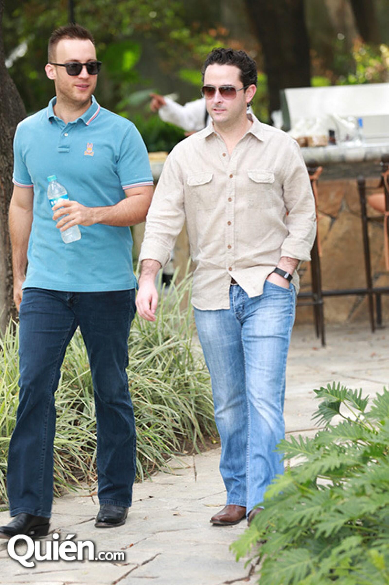 David Páez y Mauricio Morales