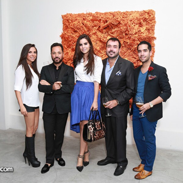 Karely Reyna,Héctor Bitar,Cynthia de la Vega,Jaime Villarreal y Shalim Alemán