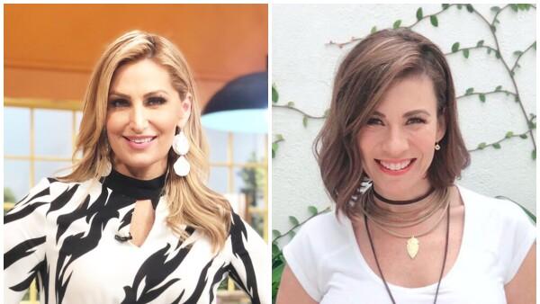 Anette Cuburu e  Ingrid Coronado