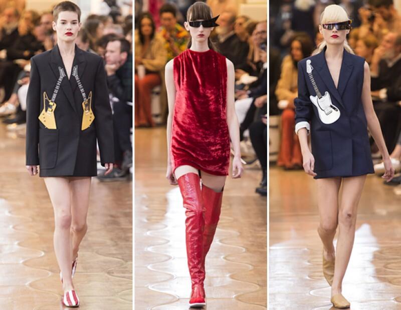 Transparencias, sacos oversize y holanes fueron los protagonistas en las pasarelas de París.