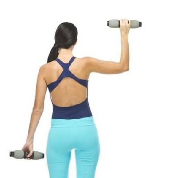 El hombro, o músculo deltoides, tiene tres secciones musculares (anterior, lateral y posterior) que se activan según el ángulo de los movimientos del ejercicio
