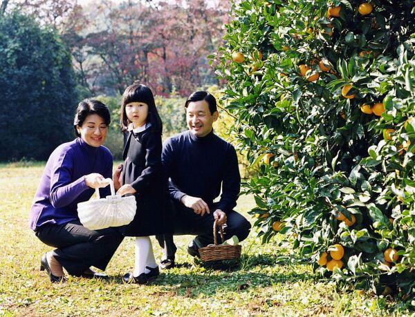 Masako, princesa Aiko y Naruhito