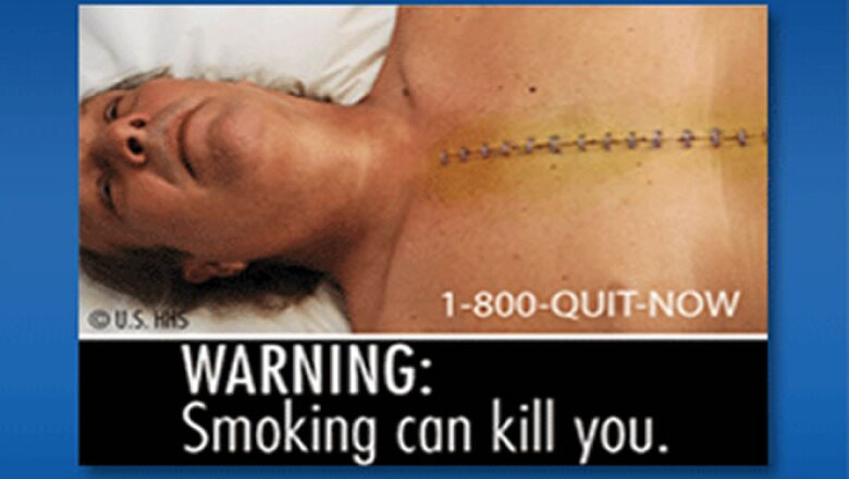 Las imágenes llevan además advertencias como 'Fumar puede matarle' y 'Los cigarrillos causan cáncer'.