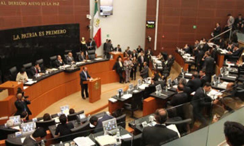 La discusión de las leyes secundarias en el Pleno del Senado se realizará este viernes. (Foto: Notimex)