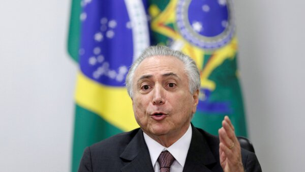 Michel Temer, presidente interino de Brasil, tiene el reto de sanear la economía.
