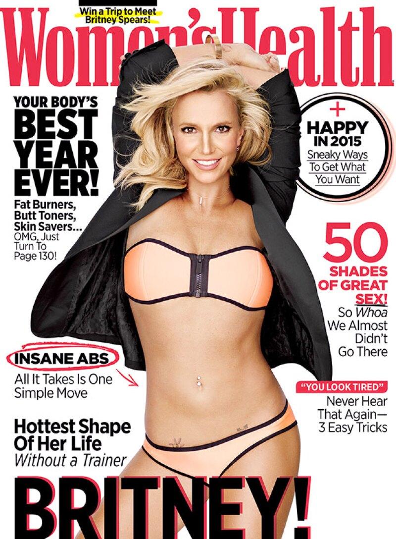 El cuerpo de Britney levanto sospechas en la portada de la revista.