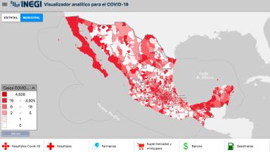 Mapa INEGI COVID-19