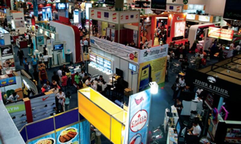 La Feria Internacional de Franquicias de marzo en la Ciudad de México es una buena manera de obtener un panorama general de las marcas que existen. (Foto: Especial)