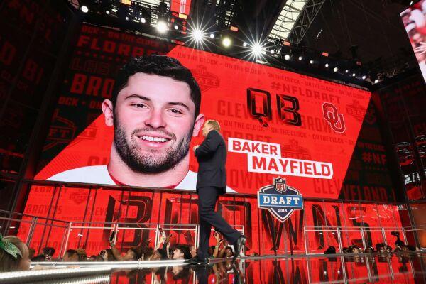 Baker Mayfield 2018 NFL Draft