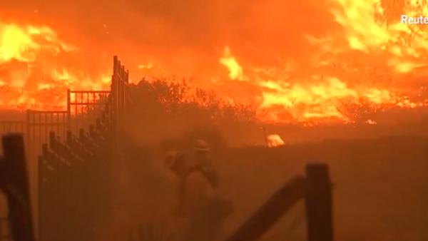 La cifra de víctimas por los incendios en California sigue creciendo