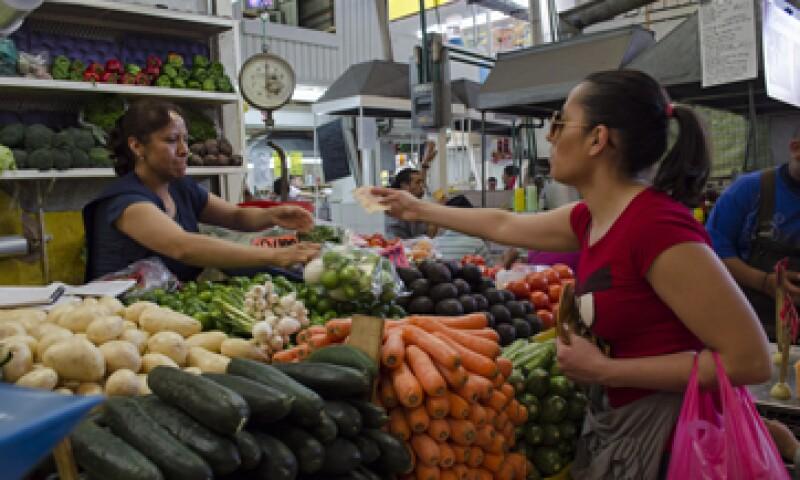 La inflación en la primera quincena de septiembre registró un alza de 4.21% anual. (Foto: Cuartoscuro)