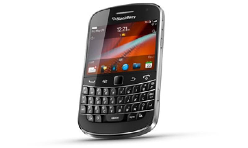 La nueva BlackBerry Bold 9900 será el teléfono inteligente más delgado que ha fabricado RIM. (Foto: Cortesía BlackBerry)