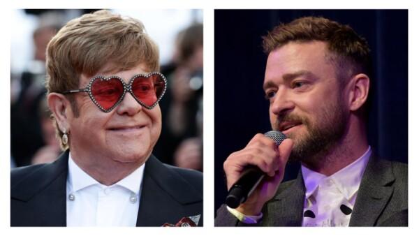 Elton John y Justin Timberlake