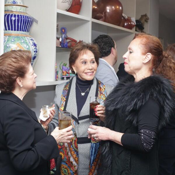 Adriana Borda,Elba Cervántez y Nely Lichtinger