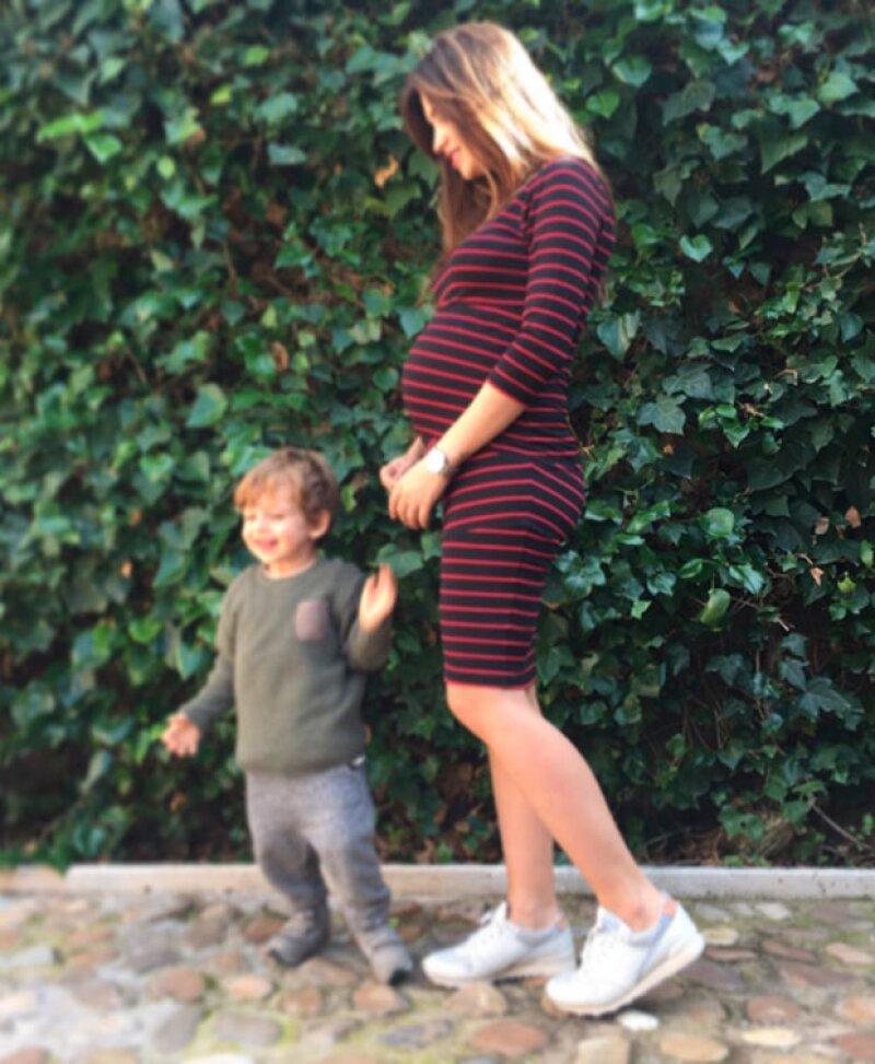 Sara está a punto de tener a su segundo bebé, fruto de su relación con Iker.