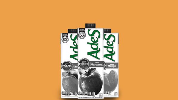 AdeS tiene un segmento de bebidas frutales y otro de leche vegetal enriquecida.